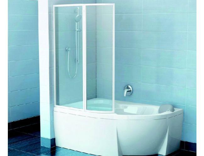 Шторка для ванны VSK2  ROSA 140 L RAIN