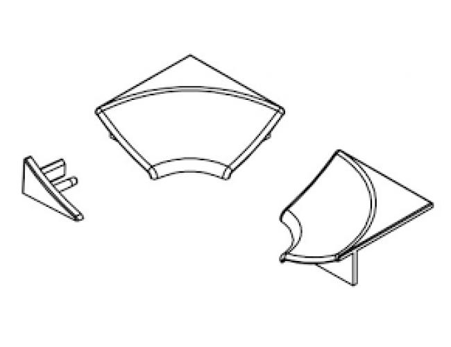 Набор для декоративной планки 6 мм
