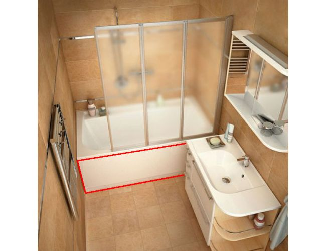 Панель для ванны  PRAKTIK 150 N FRONT