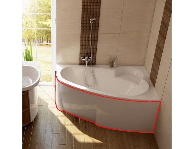 Панель для ванны  ASYMMETRIC 160 R