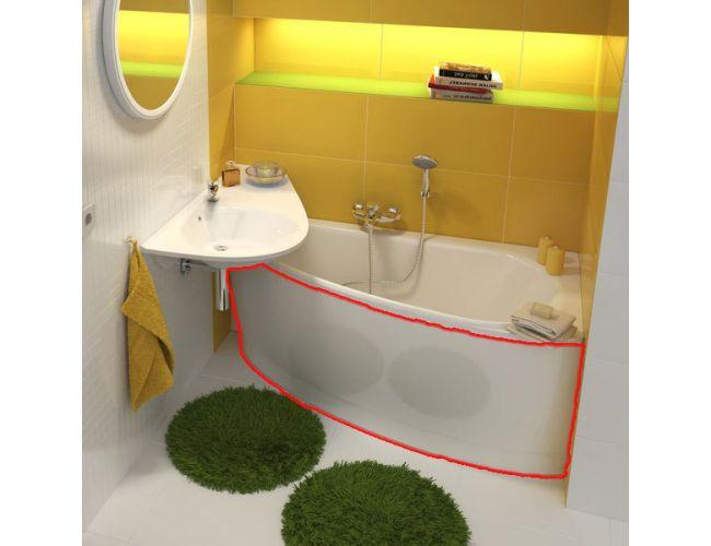 Панель для ванны  AVOKADO 160 R FRONT