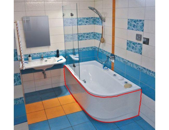 Панель для ванны  PRAKTIK 185  L FRONT
