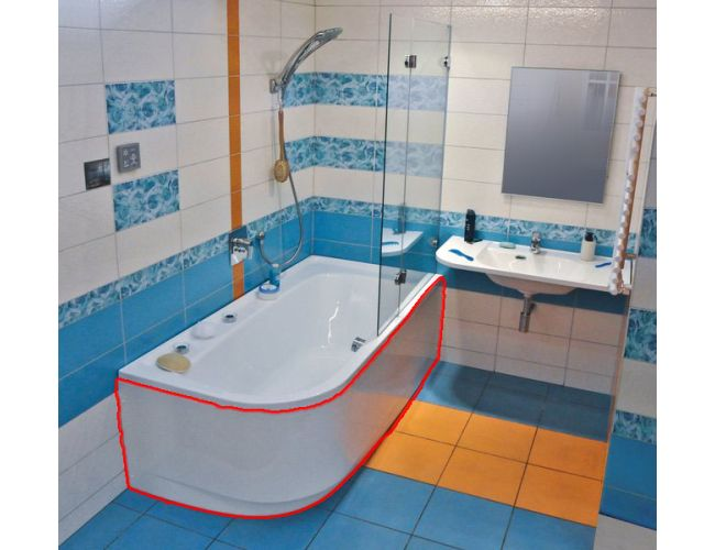Панель для ванны  PRAKTIK 185  R FRONT