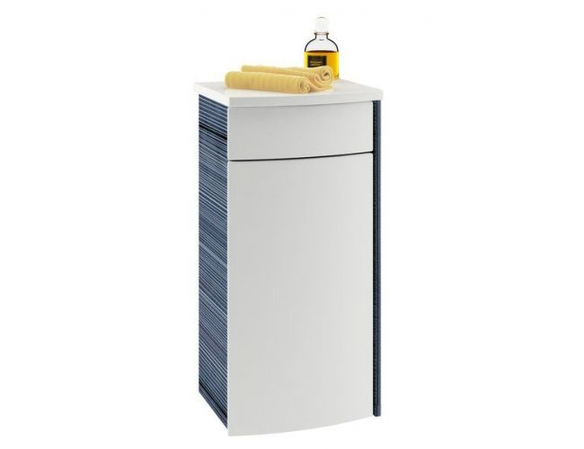 Нижний шкафчик PS R для ванной комнаты Praktik, Rosa и Uni береза