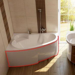 Панель для ванны  ASYMMETRIC