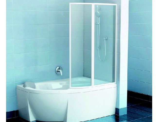 Шторка для ванны VSK2  ROSA 140 R TRANSPARENT
