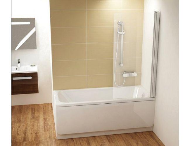 Шторка для ванны CVS1-80 R Белая