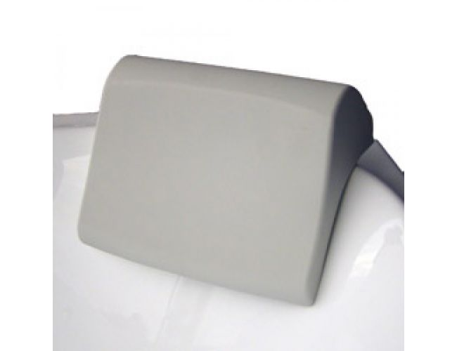 Подголовник для ванны MAGNOLIA серый