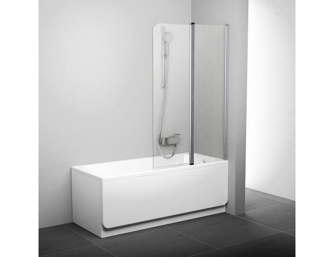 Штора для ванны CVS2-100 L ALU