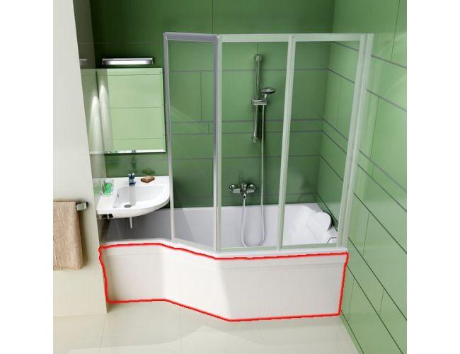 Панель для ванны  BE HAPPY  160 L FRONT