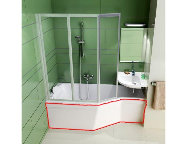 Панель для ванны BE HAPPY 170 R FRONT