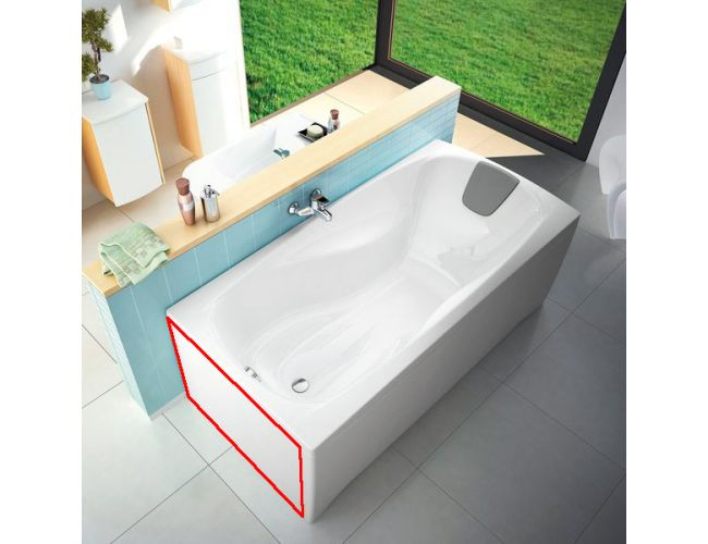 Панель для ванны XXL боковая